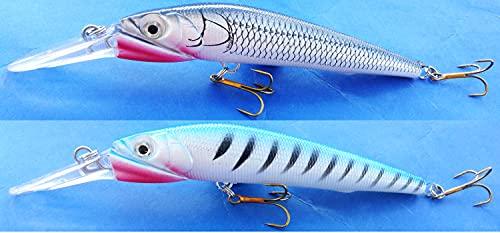 globe fishing Minnow Pesca Traina Spinning Luccio Mare Spigola Serra Esca Artificiale Rapala Lago