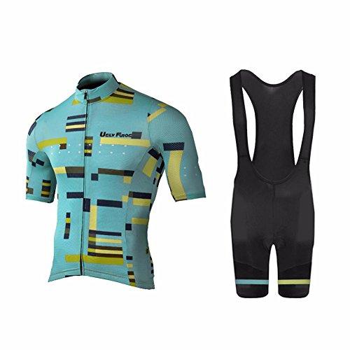 Uglyfrog 2018 Spring/Verano Hombres Camisetas De Manga Corta Ciclismo Maillots+Bib Pantalones Cortos Bodies Ropa De Bicicleta De Carretera DXMZ03