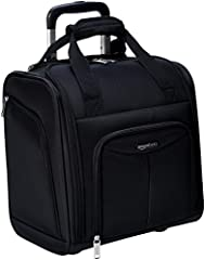 The external dimensions are 13.39 * 9.45 * 14.17 inches Fits in most airline overhead compartments and under the seat in front of you Spacious main compartment to hold clothing & an extra pair of shoes Plenty of interior pockets for small items inclu...