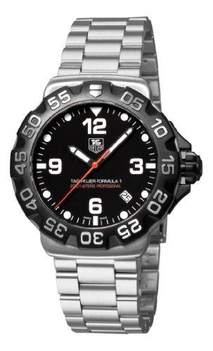 Hot Sale TAG Heuer Men's WAH1110.BA0858 Formula 1 Black Dial Watch