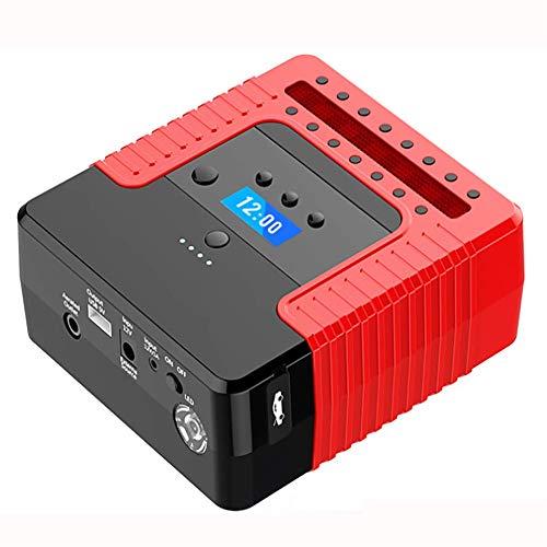 Preisvergleich Produktbild LALEO Starthilfegeräte Auto Starthilfe 300A 12000mAh (Bis zu 6 L Benzin,  4 L Diesel),  mit LCD Bildschirm Reifenluftpumpe USB LED TaschenlampeMultifunktional Tragbare Jump Starter Powerbank