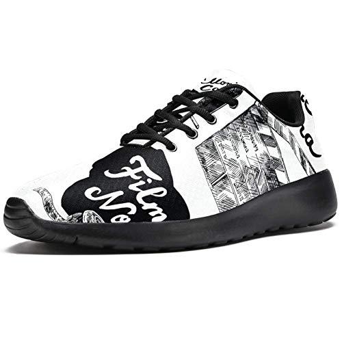 Cámara de película Athletic Trainers Zapatillas Ligeras Calzado Deportivo para Mujer
