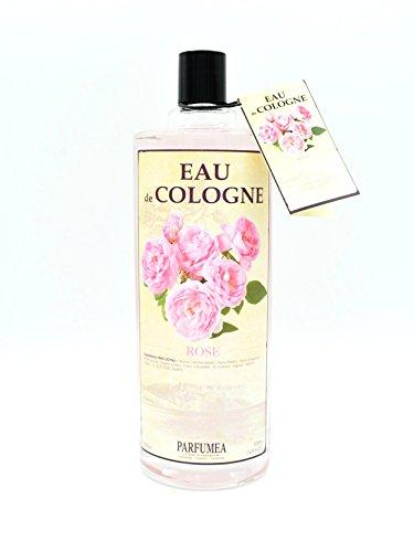 Eau de Cologne - ROSE - ROSA est une fragrance délicate et subtile (1 x 500 ml)