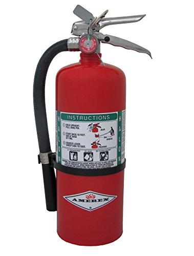 Amerex B369, 9lb Halon 1211 Class B C Fire Extinguisher