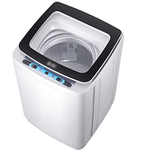 Zzmop Full-Automatic Washing Machine,Portable Compact Laundry Washer and Spin Dryer,Smart All-in-One,Low Noise,for Apartments,Dorms,RV Camping.