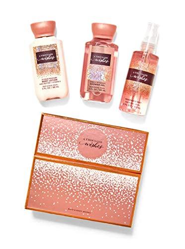 Bath & Body Works A Thousand Wishes Mini Gift Box Set, Lotion, Gel & Mist, 3 Fl Oz