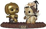 ¡Popular! Bobble: Star Wars: Darth Vader Electronic-Funko - 37593 - Movie Moment Return of The Jedi-C-3PO on Throne Star Wars C-3PO - Figurine de Collection - Multicolore