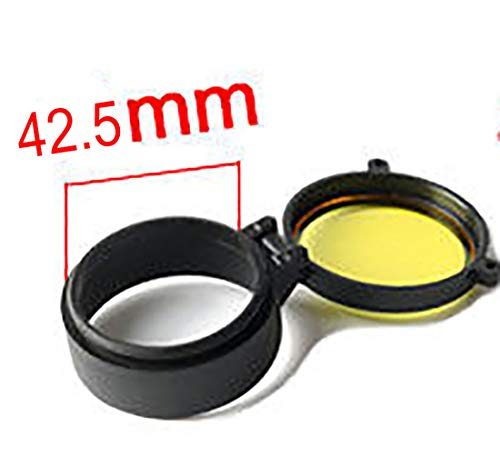 Rifle Scope Cover Quick Flip Spring Up Open Lens Cover Cap...