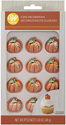 Wilton Pumpkin Icing Decorations