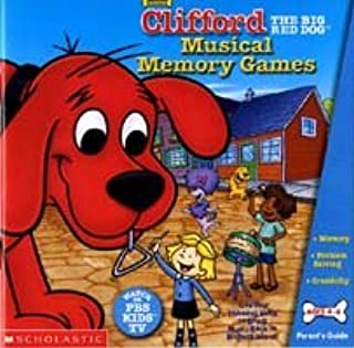 BRAND NEW Selectsoft Publishing Clifford Musical Memory Games 19 Entertaining Activities Challenges