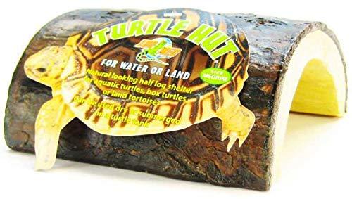 Zoo Med Turtle hoed MED, schildpadhuisje, Medium, bruin