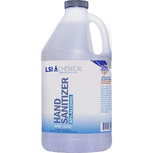 418D6 zZldL - Hand Sanitizer (Non-Gel) - 64 OZ