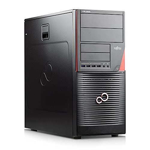 Fujitsu Celsius W550 Workstation Xeon Quad Core E3 v5 512 GB SSD + 1 TB HDD HDD 32 GB de memoria Windows 10 Pro Nvidia Quadro Business Computer PC (reacondicionado)