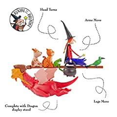 WOW! STUFF The Room On The Broom Story Time Set | Collectable Articulated Character Action Figures | Official Toys and Gifts from The Julia Donaldson and Axel Scheffler Books and Films #1