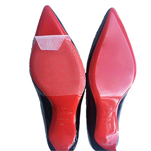 Sole Sticker - Crystal Clear Sole Protector for Christian Louboutin Heels, Jimmy Choo, Ladies Heels 4INX5IN (PACK OF 4)