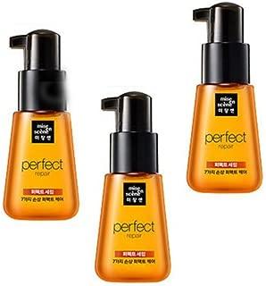 Set 3pcs 70ml - Amore Pacific Mise En Scene Perfect repair serum for damaged Hair original rich - Genuine - Shipping Korea