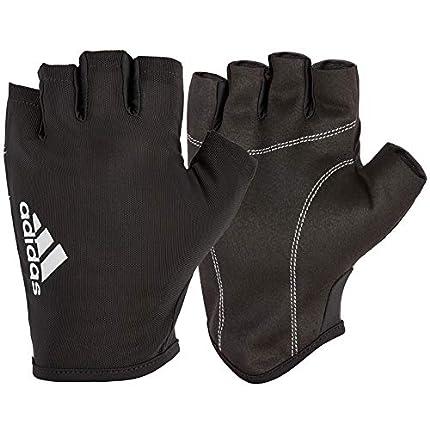Adidas Esencial Guantes - Negro / Blanco, S