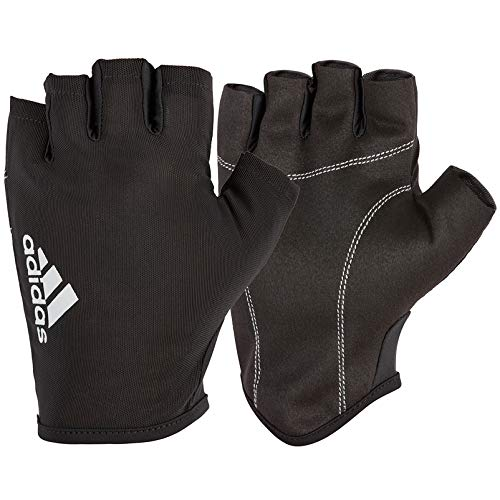 Adidas Esencial Guantes - Negro / Blanco, L
