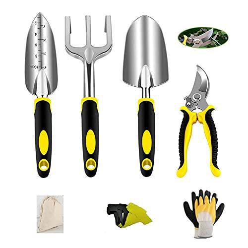 Secwell Ensemble d'outils de Jardin 6 pièces, Outils de...