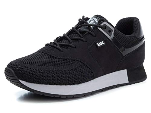 XTI Herren 49199 Sneakers, Schwarz (Negro Negro), 43 EU