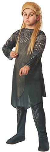 The Hobbit: Desolation of Smaug, Child Legolas Costume, Large - Large One Color