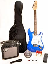 RST 3/4 EB Short Scale Blue Guitar Pack