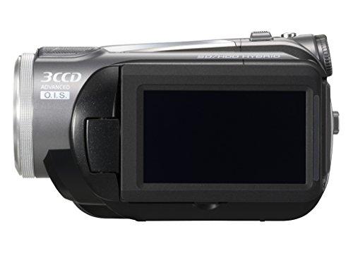 Panasonic HDC HS 9 EG-S Camcorder (SD/SDHC, 10-fach opt. Zoom, 6,9 cm (2,7 Zoll) Display) silber