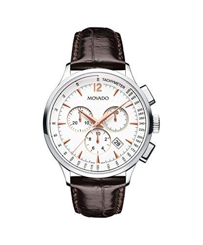 Movado autorizar Hombres de la Moderna 0606576–Reloj automático Suizo