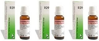 3 x Dr. Reckeweg-germany R29- VERTIGO, SYNCOPE DROPS.