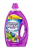 Weißer Riese Color Gel, Flüssigwaschmittel, 140 (2 x 70) Waschladungen, extra stark gegen Flecken