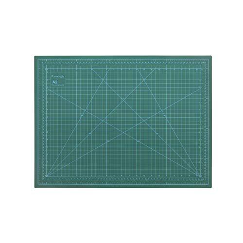 magnetiks Tappetino da taglio DIN A2, autorigenerante su entrambi i lati, verde, 60 x 45 cm