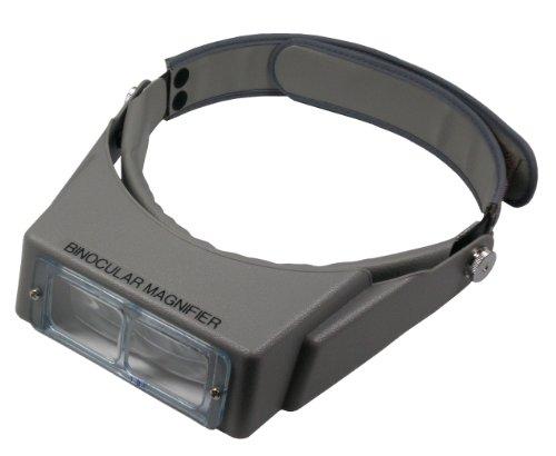 MIZAR ルーペ ヘッドルーペ 1.8倍 マジックテープ式 ブラック HL-110