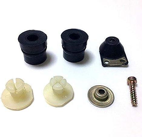 Am 7pieza vibración goma búfer Anillo Buffer Buffer Juego para Stihl 026024ms240MS260Sierra Motor de Vibración goma–Sordina Anti Vibración Juego # 11217909901, 11217909912, 11217909909