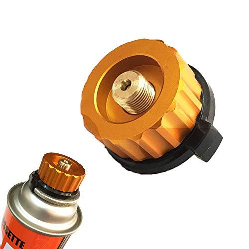 MZY1188 Adaptateur pour réchaud à gaz de Camping Connecteur de poêle , Arrêt Automatique de gaz de Camping en Plein air , Cartouche de Cylindre Split Type Convertisseur de Camping Connecteur de poêle