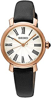 Seiko Women SRZ500P Year-Round Analog Quartz Black Watch