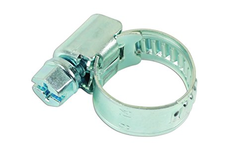 Connect Atelier consommables 36896 Tuyau en acier doux Clip 9 à 14 mm Lot de 5