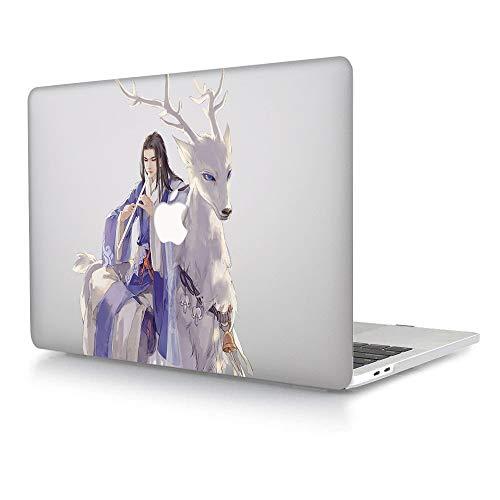 AJYX Funda compatible con MacBook Pro 13 con CD-ROM Drive – Carcasa rígida de plástico para MacBook Pro 13 pulgadas (A1278, versión 2012/2011/2010/2009/2008), Devil & Deer DH-29