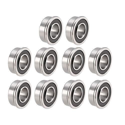 Sourcingmap FR188-2RS - Rodamientos de acero cromado (1/4' x 1/2' x 3/16' (GCr15)
