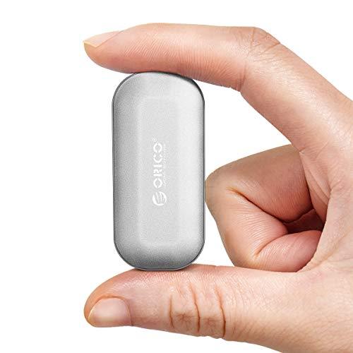 ORICO SSD PortatileEsterno 250GB Velocità di Lettura in Fino a 1000 MB s NVMe USB 3.1 Gen2 Tipo-C Interfaccia Unità Flash a Stato solido per Laptop,Tablet, PC e Telefono Android(IV300 Argento)