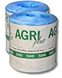 AGRI plus 10 kg = 1 paquete doble de hilo de recolección para bolas de alta presión 500 m/kg