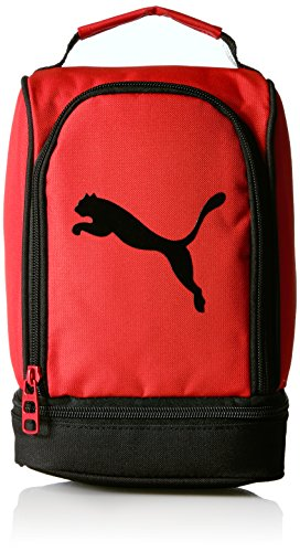 PUMA Kids' Big Boys' Evercat Stacker Lunchbox, red/Black, One Size