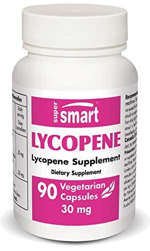 Supersmart - Prostate, antiOxydants, Santé Hommes - Lycopene 15mg - 90 Gelules Vegetales