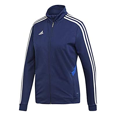 adidas Tiro 19 Training Jacket - Women's Soccer 2XL Dark Blue/Bold Blue/White