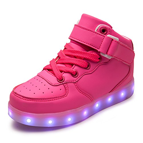 DoGeek Bambini Calza di Illuminazione a LED con Luce Si Accende Scarpe Sneakers Sportive