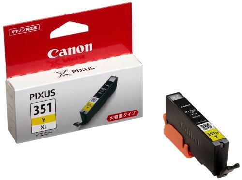 『Canon 純正インクカートリッジ BCI-351 イエロー 大容量タイプ BCI-351XLY』のトップ画像