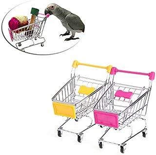 Best Quality Parrot Bird Mini Supermarket Shopping Cart Intelligence Growth Training, Parrot Asteroid Mini - Parrot For Sale, Purple Parrots, Parrot Training, Supermarket Car, Parrot Toy