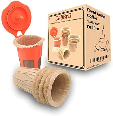 Unbleached Paper Filters for Reusable Carafe Fits All Brands Compatible With All Disposable product image