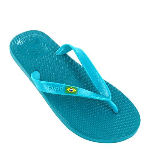 Dupé Revolution Brasil Gel Flip-Flops in verschiedenen Farben., - türkisblau - Größe: 35/36 EU