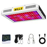 Led Grow Lights 1200W, WILLS Full Spectrum Led Growing Lamp Double Switch Plant