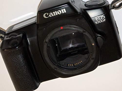 EOS 1000 F - SLR Kamera - Farbe: schwarz - analoge Spiegelreflexkamera nur Body/Gehäuse - kompatibel mit vielen Canon SLR UND DSLR Objektiven # Technik - ok